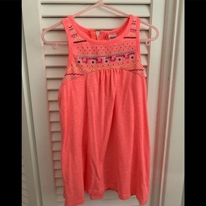 Girls dress or long shirt. Size 6.